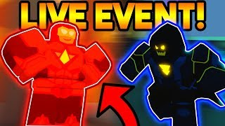 INSANE *NEW* LIVE EVENT ON POWER SIMULATOR! (4 NEW TRAINING SPOTS!) (ROBLOX)