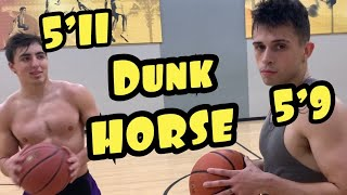 Crazy Game Of Dunk HORSE: 5'9 VS 5'11