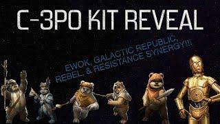 C-3PO Kit Reveal!!!