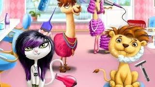 Animal Hair Salon/Парикмахерская для животных весёлая игра-мультик
