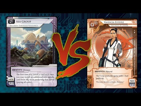 Android: Netrunner - Crash Test #202 Asa Glacier Surveyor VS Valencia Zero Wheel v2