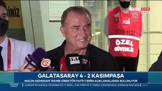 Fatih Terim'den Transfer Açıklaması | Galatasaray 4-2 Kasımpaşa Maç Sonu