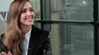 Harper's Bazaar   The Look with Jessica Alba
