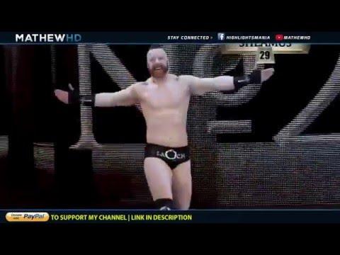 WWE Royal Rumble 2016 Highlights HD- ملخص عرض رويال رامبل 2016