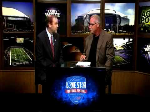 Lone Star Football Festival Week: Commissioner Wagnon and Randy White on Rangers Live