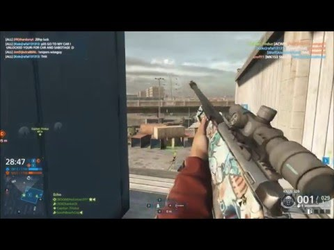 Battlefield Hardline Awm  .338 Magnum rounds