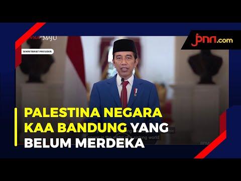 Indonesia Nyatakan Sikap Dukungan Untuk Palestina
