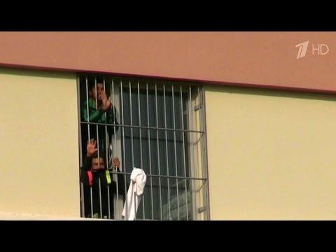 «Рейтер» распространило видео из турецкого лагеря для беженцев, больше похожего на тюрьму.
