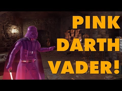 Pink Darth Vader Modded Into Battlefront II Because EA Said Nobody Wants Pink Darth Vader