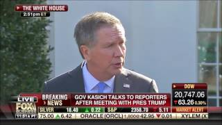 Governor John Kasich White House Remarks After Meeting with President Trump February 24, 2017
