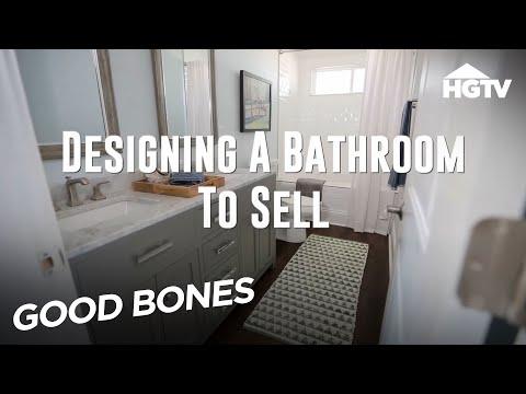 Good Bones - Designing a Bathroom to Sell - HGTV