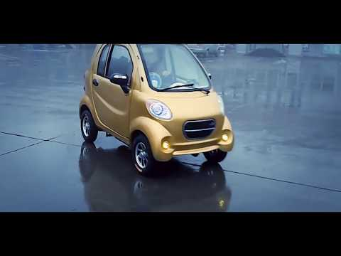 SMART FOR ONE. Chinese version with an electric motor
