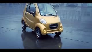 SMART FOR-ONE. Versi Cina Dengan Motor Listrik
