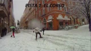 ANCONA 4 Febbraio 2012 - SCIARE PER LE VIE DELLA CITTA