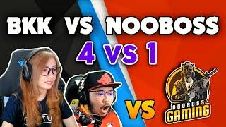 BKK team vs HUNGRY team | Indonesian Streamers VS BD Streamer Nooboss | 4 Vs 1 Epic battle