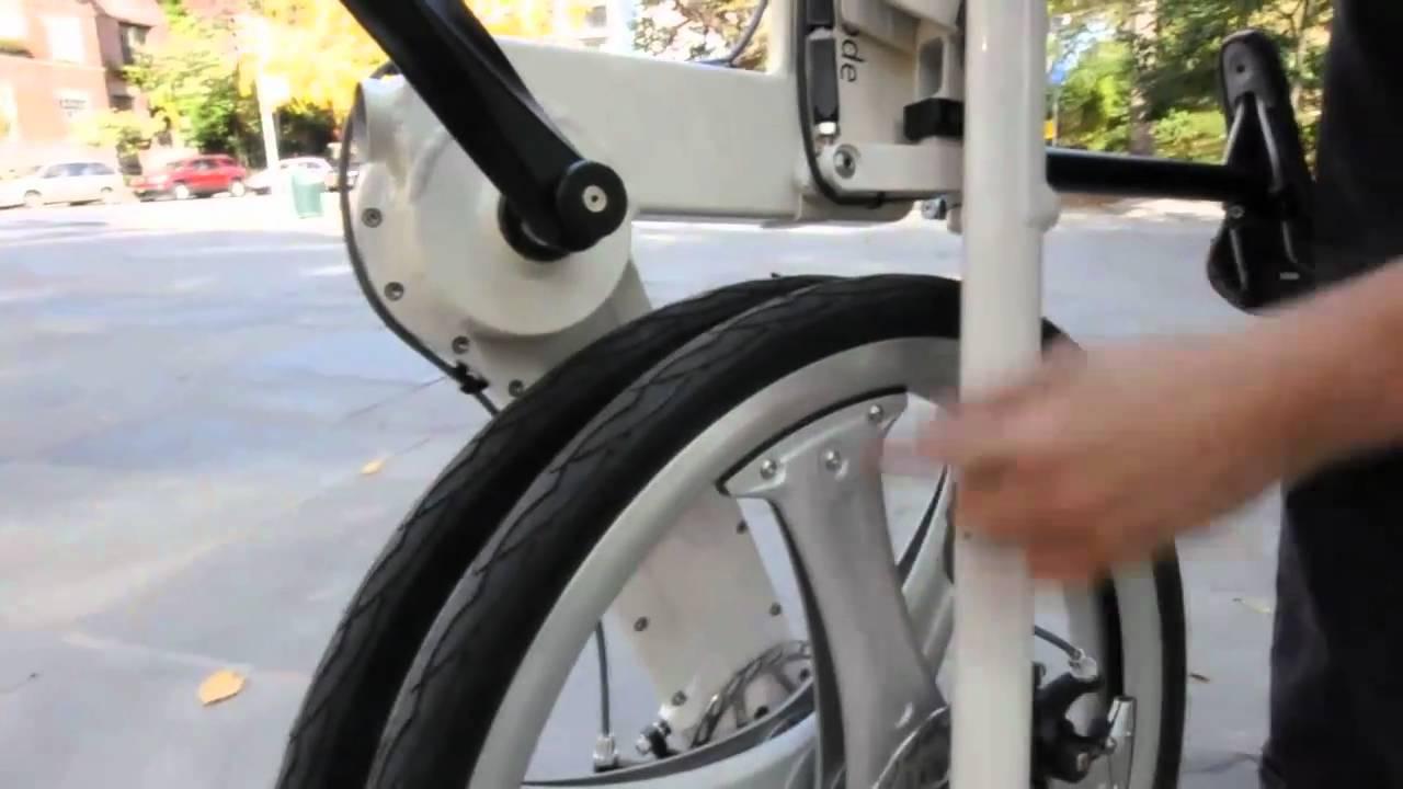 If Mode Folding Bike Coolest Folding Bike Ever Youtube