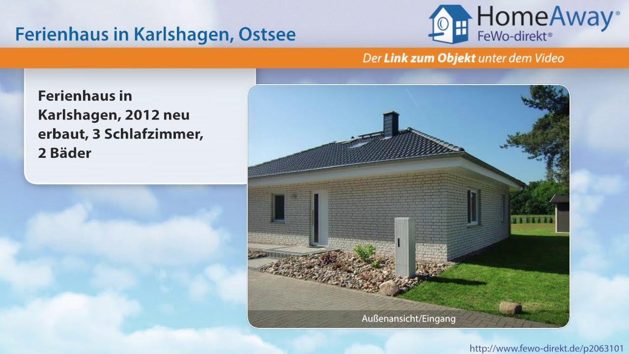 Usedom: Ferienhaus in Karlshagen, 2012 neu erbaut, 3 Schlafzimmer, 2 ...