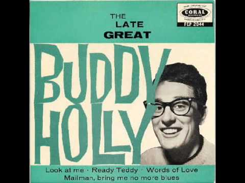 Buddy Holly - Mailman bring me no more blues (1957)
