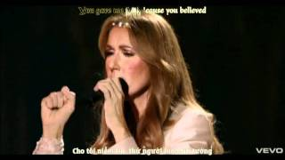[VietSub + Kara]Because You Loved Me - Celine Dion ( Live in las vegas ) [ CÓ LINK DOWNLOAD ]