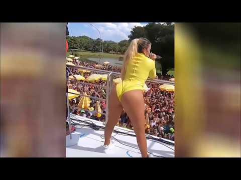 KarolG Bailando Mi Cama En El Carnaval De Sao Paulo , Brasil 2019