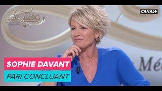 Sophie Davant : pari concluant - Le Tube du 12/05 - CANAL +