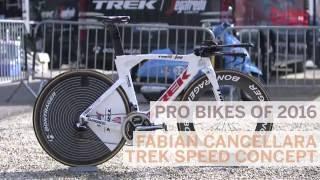 Pro Bikes of 2016: Fabian Cancellara's Trek Speed Concept time trial bike