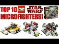 Top 10 LEGO Star Wars Microfighters!