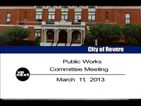 Public Works Committee 03-11-13