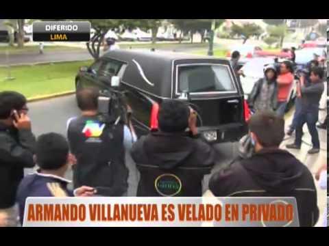 Armando Villanueva Es Velado En Su Casa En Surco Youtube