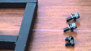 How to Assemble Elitech LCD-37R TV Cart