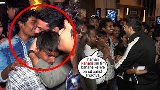 Real Super 30 Kid gets EM0TI0NAL & THANKS Hrithik Roshan 4 Helping His Family By Taking Him In film