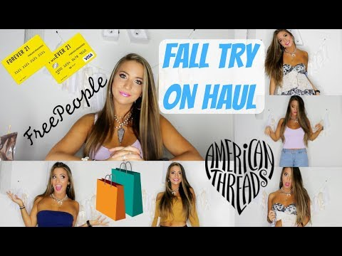 FALL TRY ON HAUL (F21, Free People, etc.)