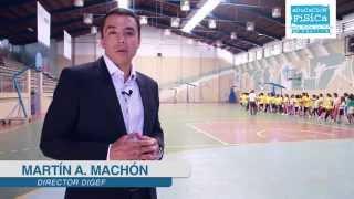 Martín Machón - DIGEF - Plan Nacional del deporte, educación física y recreación física 2014-2024