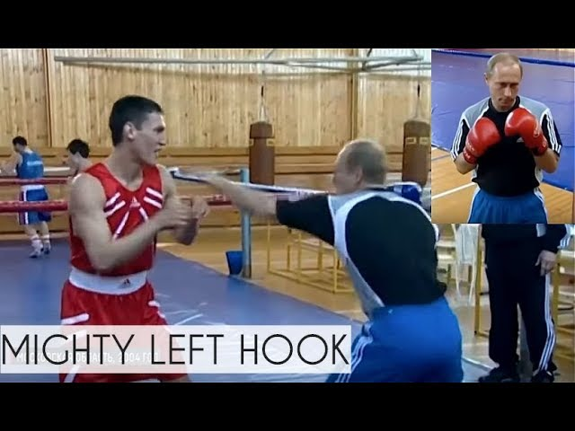 The Boss Putin Showing Off His Boxing Skills Rare Footage Youtube