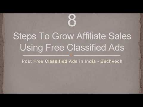 8 Steps For Improve Affiliate Marketing Leads Using Free Ads in India