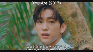 All of Jinyoung's lines in GOT7 MVs (Korean only)