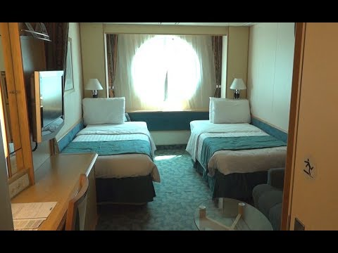 Oceanview Stateroom On Liberty Of The Seas Cruise Ship