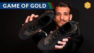 Nuova Nike HYPERVENOM nero/oro