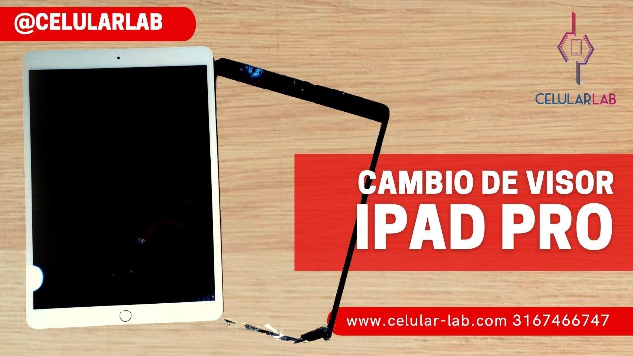 """Aprende a🤳 Reparar la Pantalla de un iPad Pro de 10.1"""" 📲 Cambiamos Visor - Táctil ¡queda como NUEVA!"""