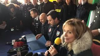 MATTEO SALVINI in diretta da Montemurlo (PRATO, 21.12.2018)