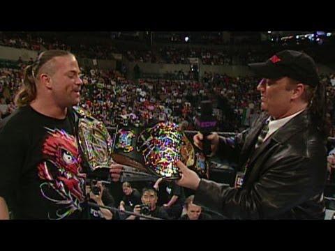 Paul Heyman Awards RVD With The ECW World Heavyweight