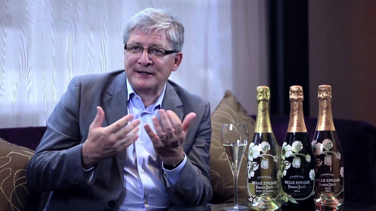 Hervé Deschamps, Chef de Cave of Champagne Perrier-Jouët