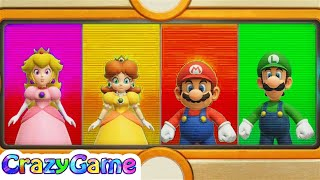 Super Mario Party - All Wacky Minigames Gameplay