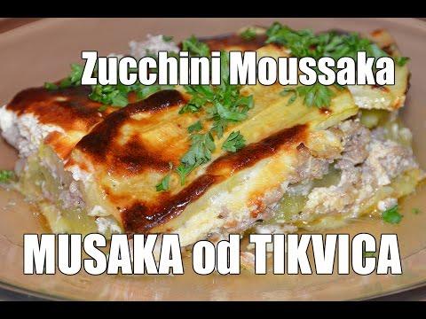 RECEPT: MUSAKA OD TIKVICA / ZUCCHINI