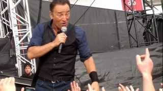 Bruce Springsteen, Out In The Street, Bergen 24/07-2012