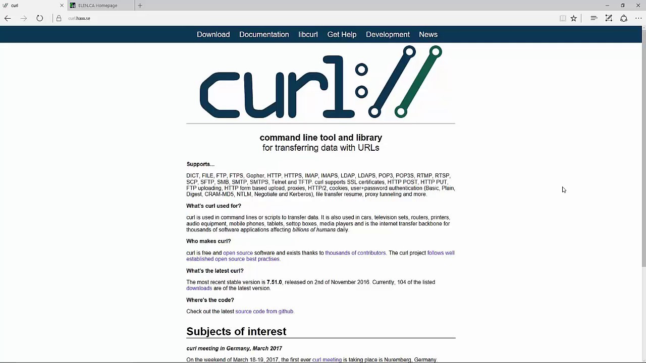 How To: Download and Install a curl executable for Windows