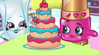 Shopkins | The Cake | Cute Cartoons | Full Episodes | Cartoons For Children