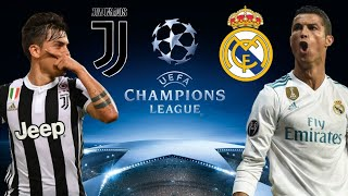 JUVENTUS - REAL MADRID | PREDICTION FIFA 18 Champions League