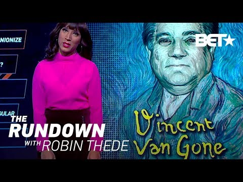 Vincent Van Gone - Robin Thede Has This To Say About Nasty Handsy Men | The Rundown With Robin Thede