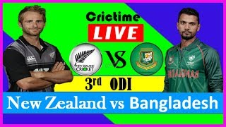 bangladesh vs new zealand 2019